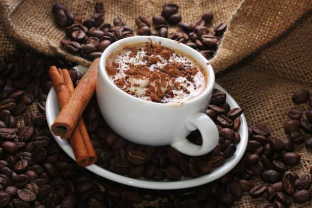 Hot Cocoa with medicinal mushrooms & cinnamon